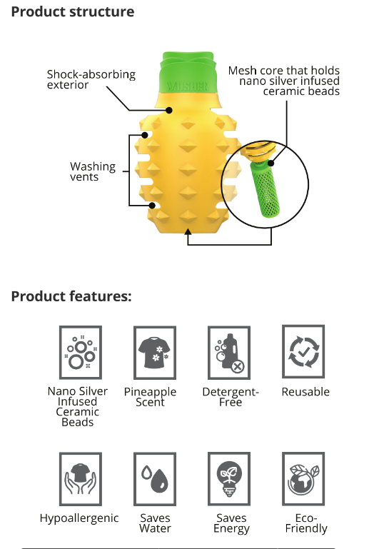 Laundry Masher Pineapple Reviews